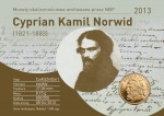 2013 Blister Cyprian Kamil Norwid