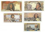 s73_Reproduktion - Banknotes Frankreich, 1959-1966